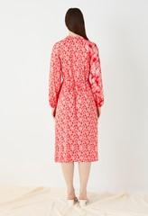 Priory Printed Wrap Dress