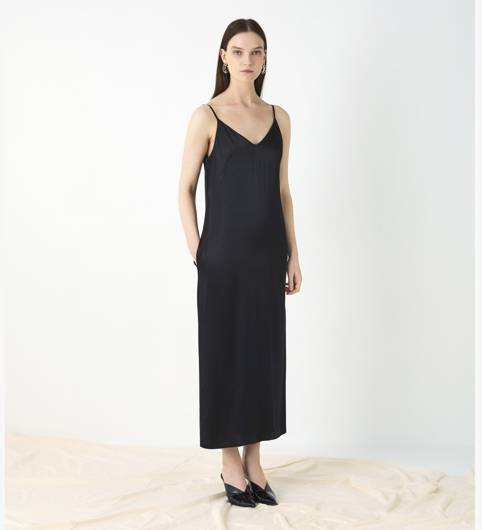 Thayer Satin Slip Dress