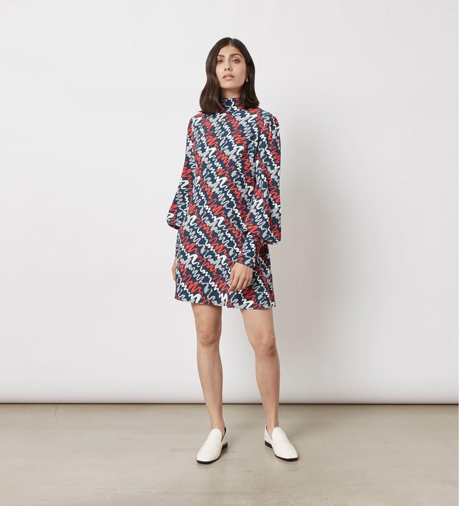 Irena Printed Mini Dress