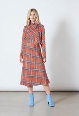Portland Printed Midi Dress