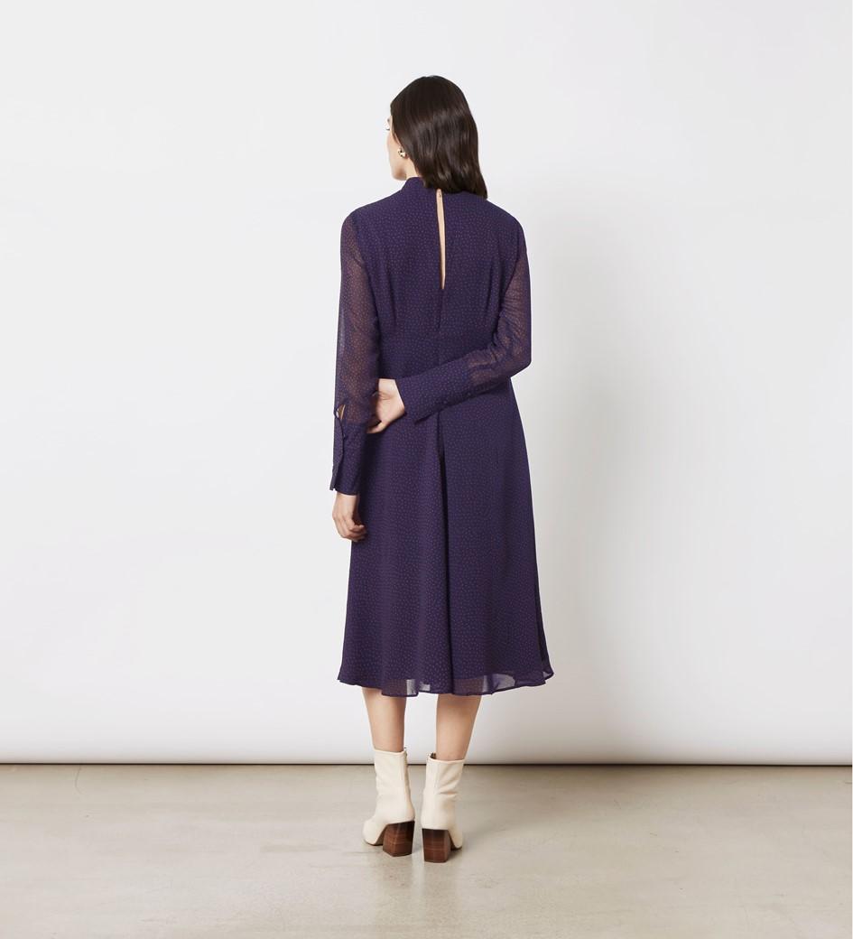 Lorena Printed Georgette Dress