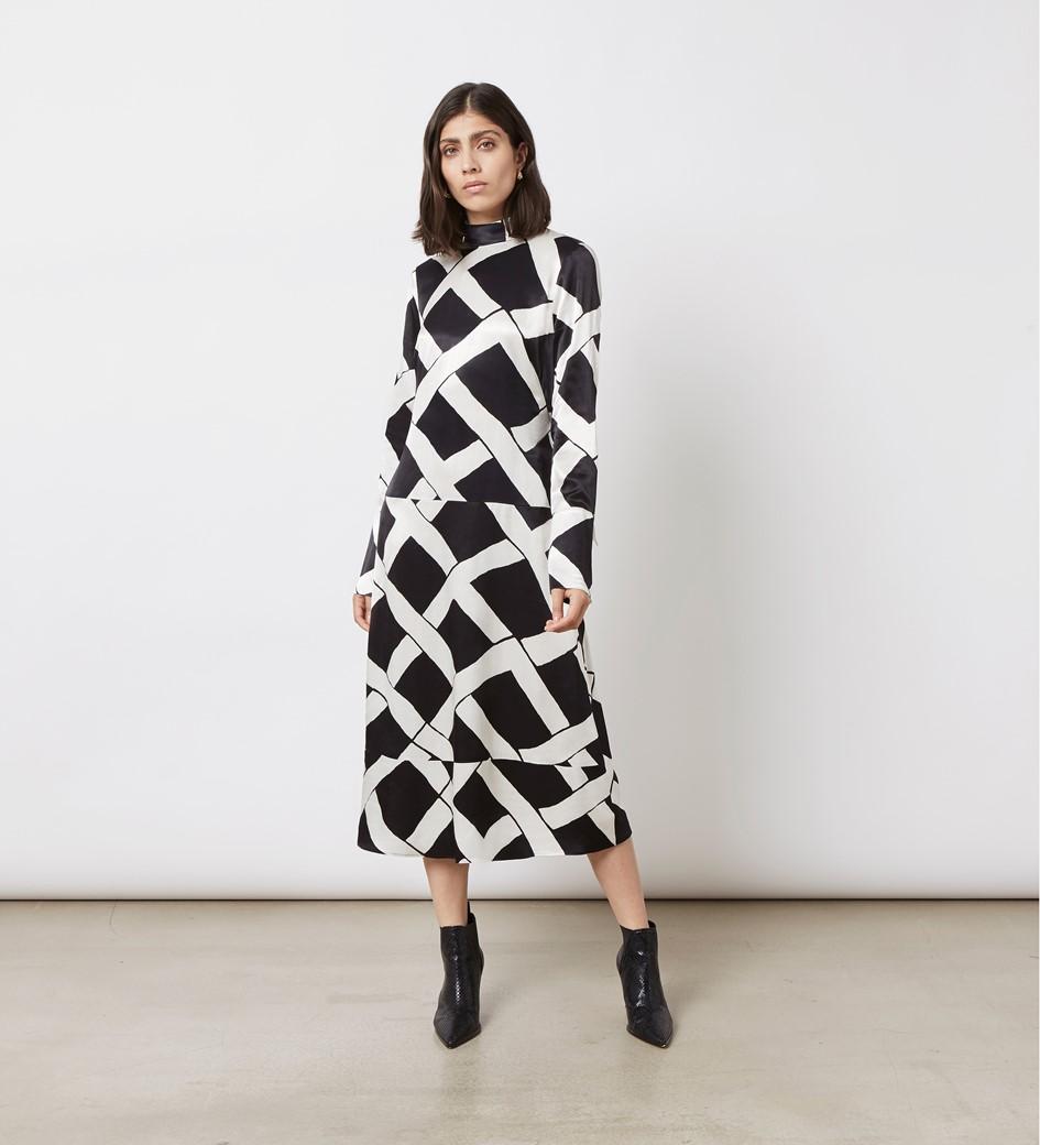 Arden Printed Dress