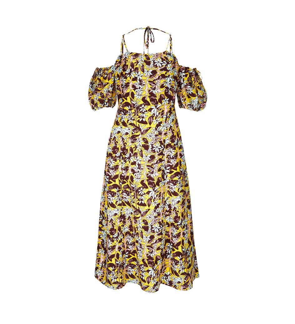 Essendine Printed Linen Dress