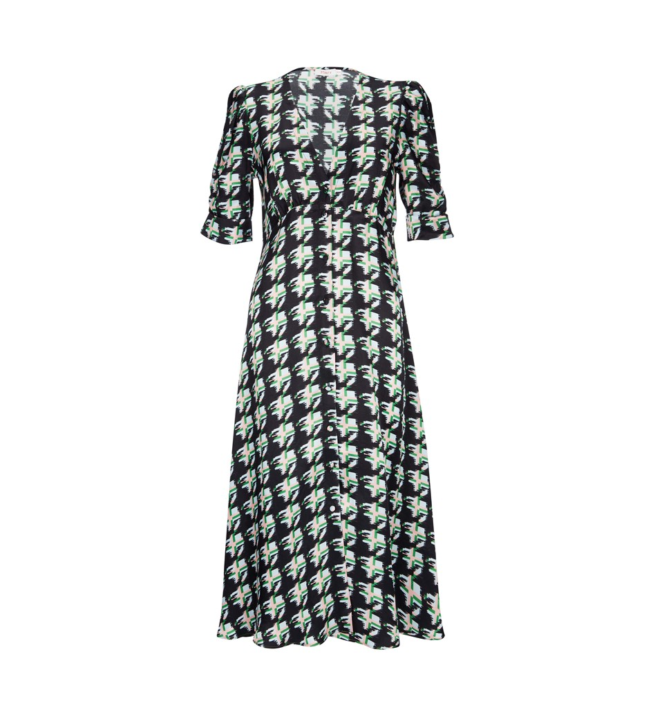 Claredon Print Dress