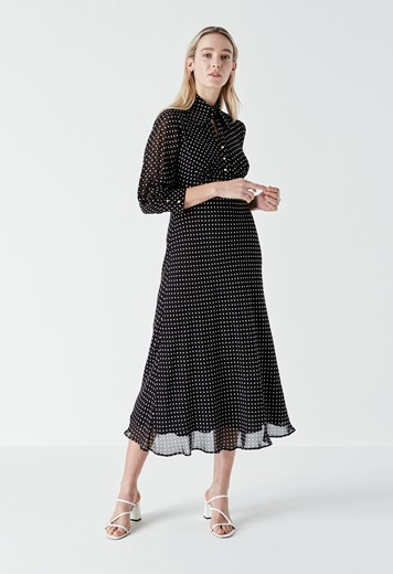 Martha Polka Dot Dress