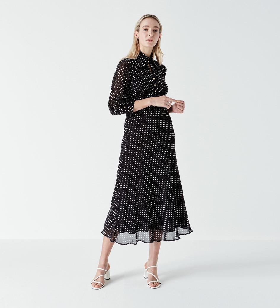 Martha Polka Dot Dress