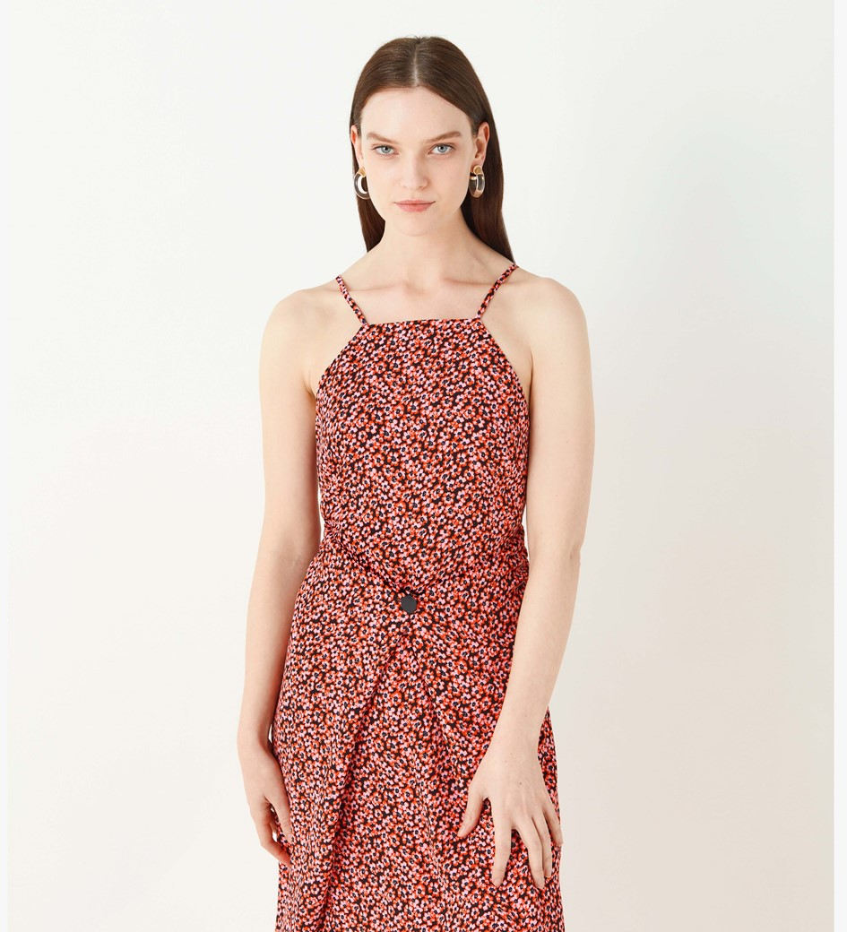 Orchard Button Front Dress