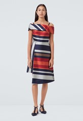 Sackville Multicolour Striped Dress