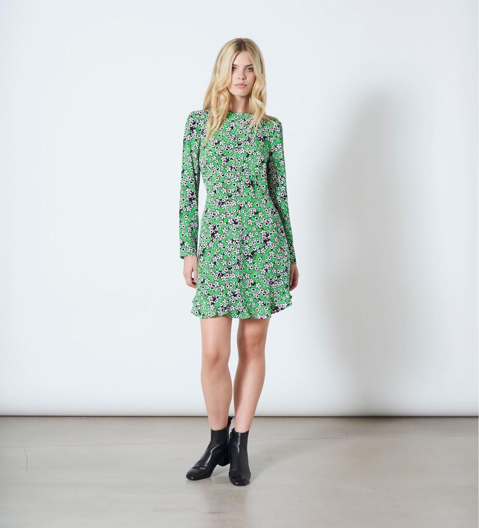 Finchley Print Mini Dress