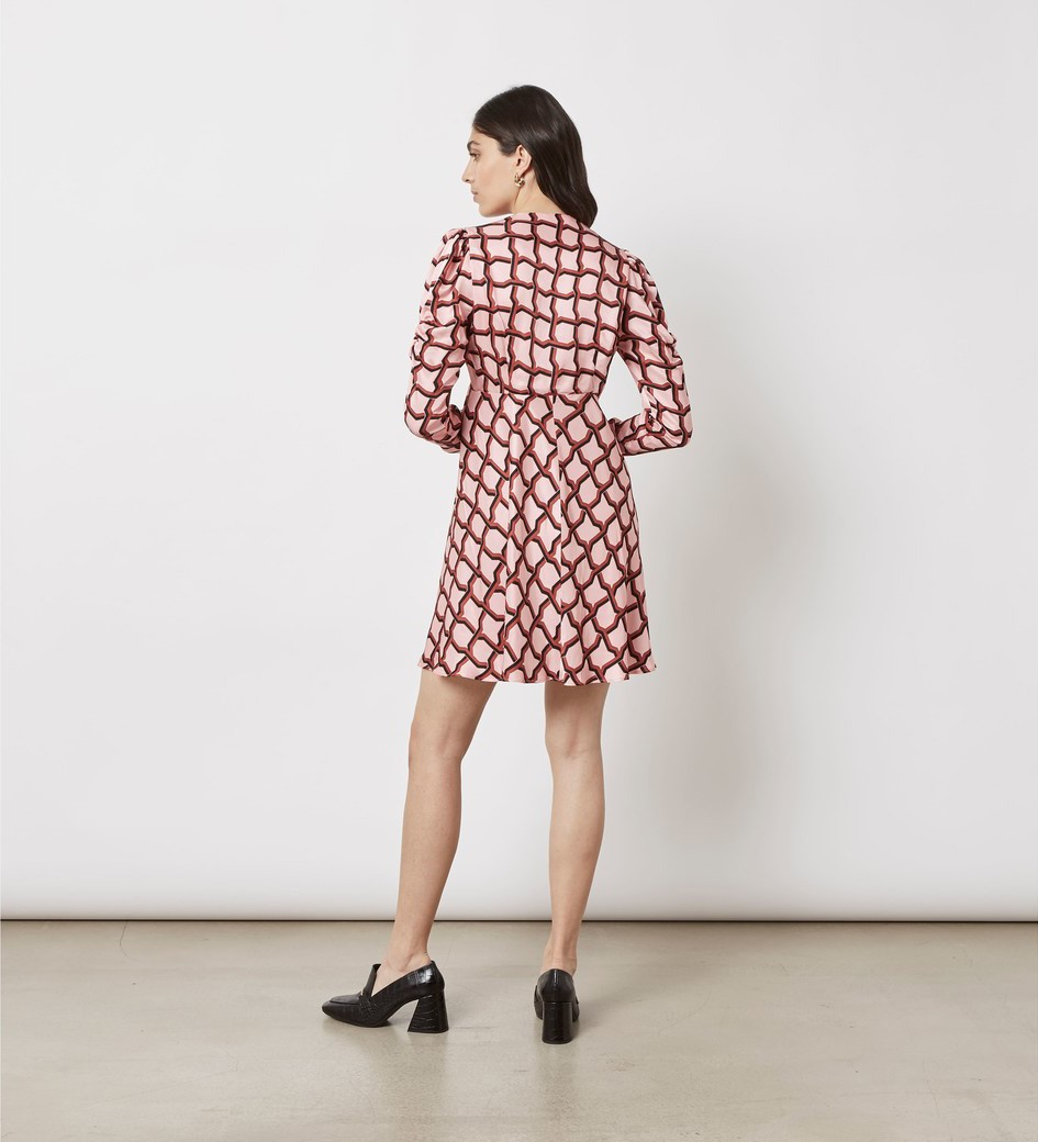 Catalina Printed Mini Dress