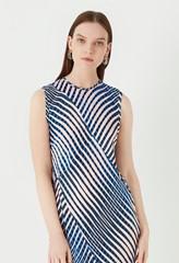 Delaware Printed Satin Dress