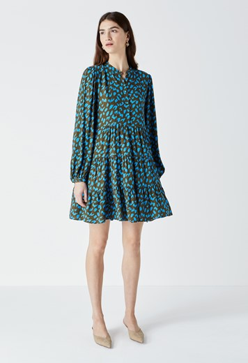 Victoria Printed Dress