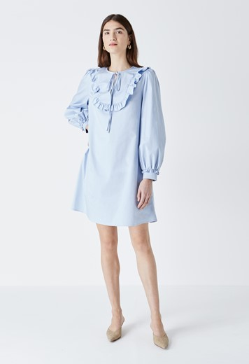 Paton Frill Placket Dress