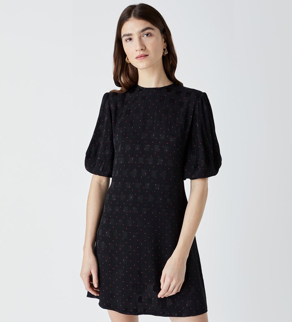 Allington Jacquard Mini Dress