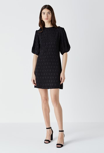 Allington Jacquard Mini Dress