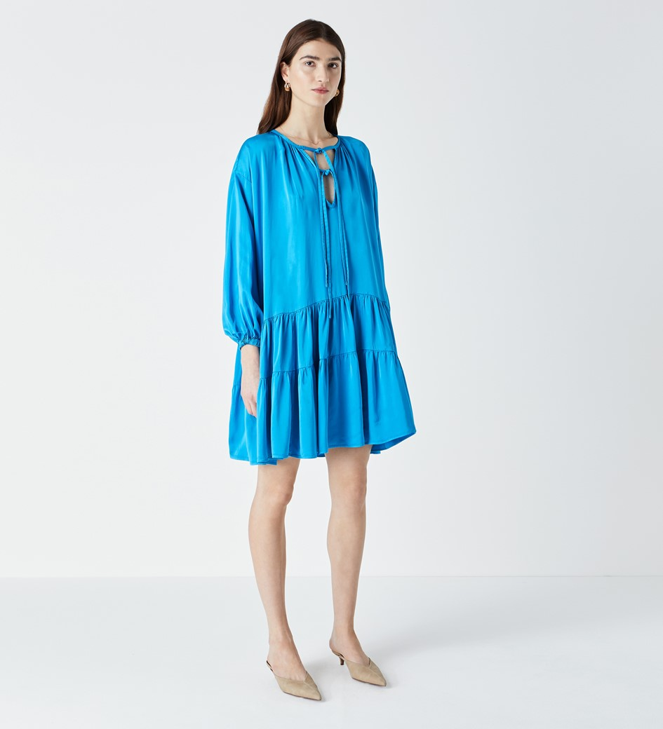 Leighton Blue Dress