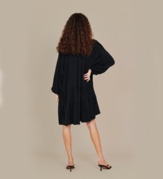 Leighton Black Dress
