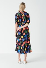 Lucielle Printed Shirt Dress