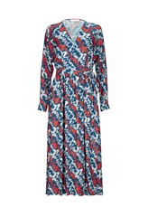 Morgan Printed Wrap Dress