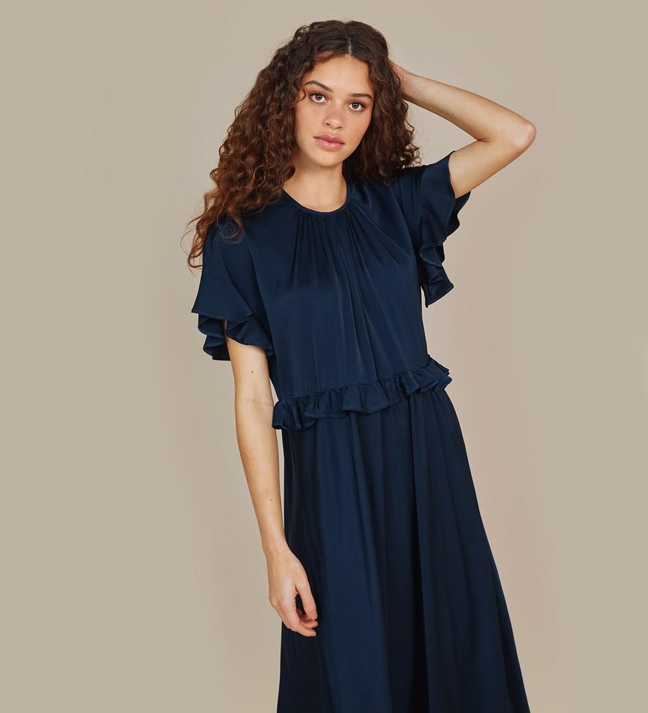 Brenna Navy Dress