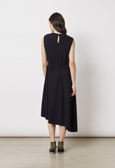Marston Textured Jersey Dress