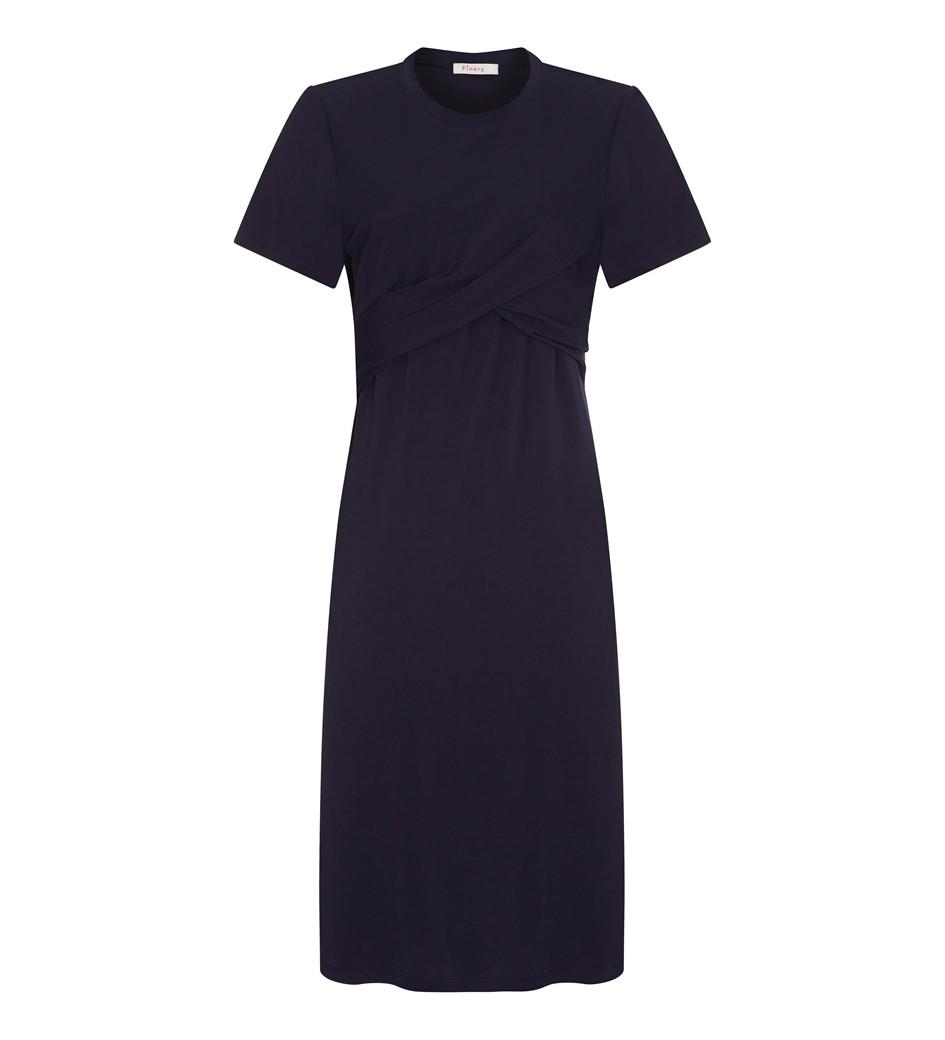Edis Navy Jersey Dress