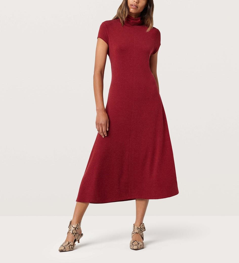 Leigh Garnet Rose Dress