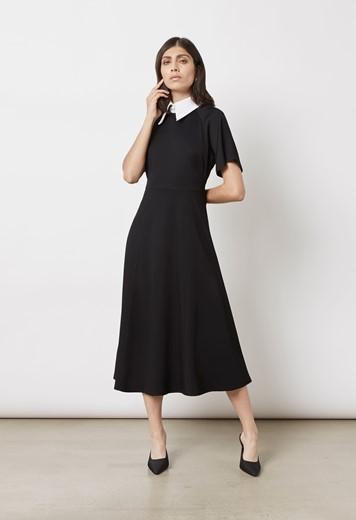 Kalina Collared Midi Dress