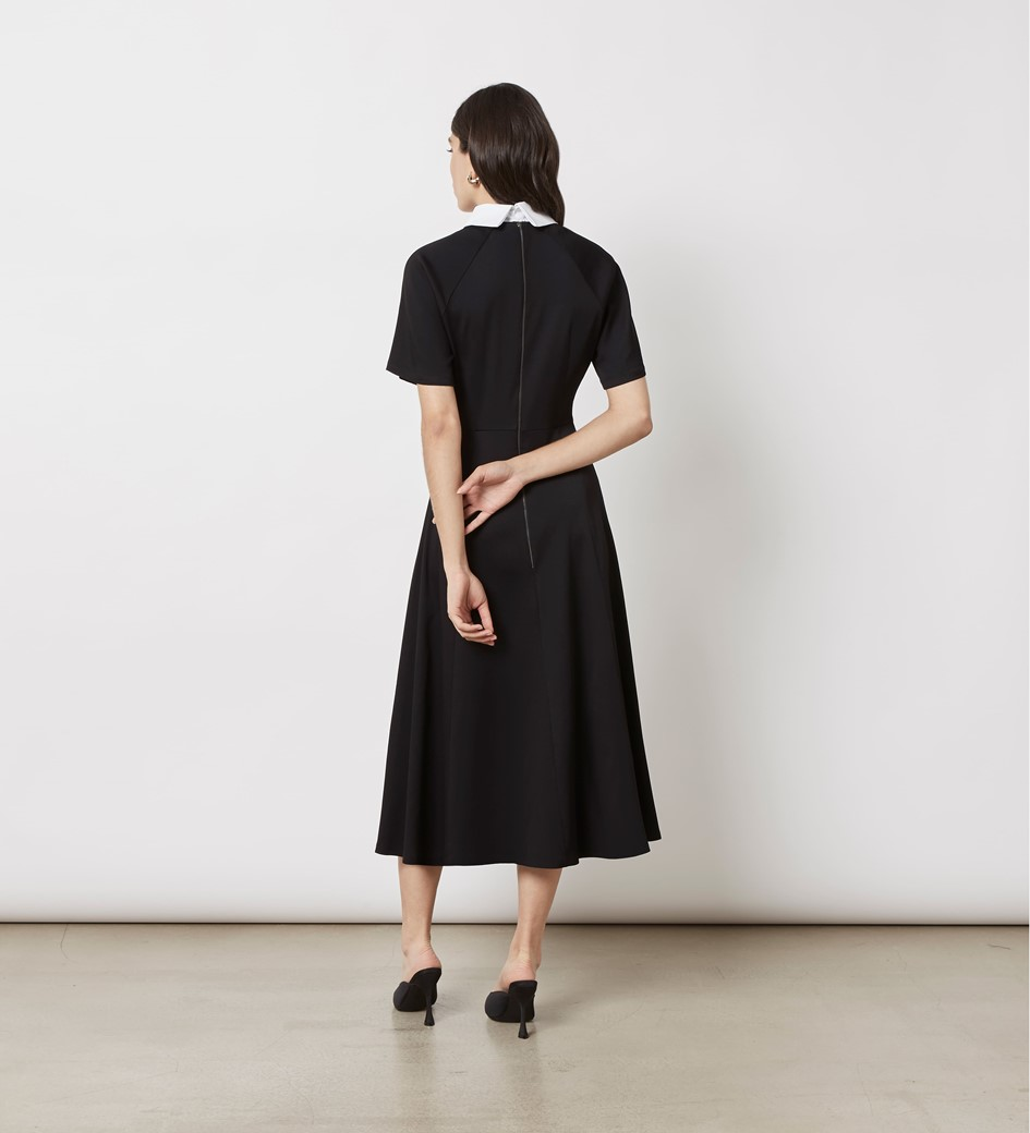 Kalina Collared Midi Dress
