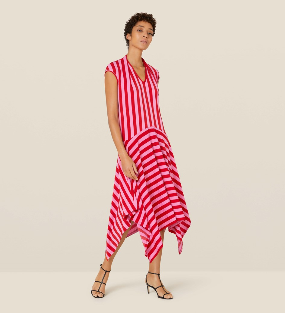 Bailey Pink Striped Dress