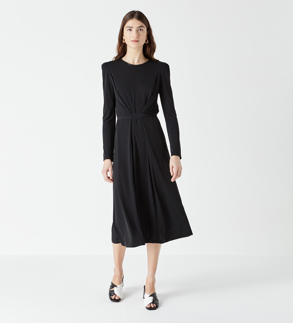 Orla Long Sleeve Jersey Dress