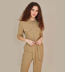 Jessie Camel Jumpsuit