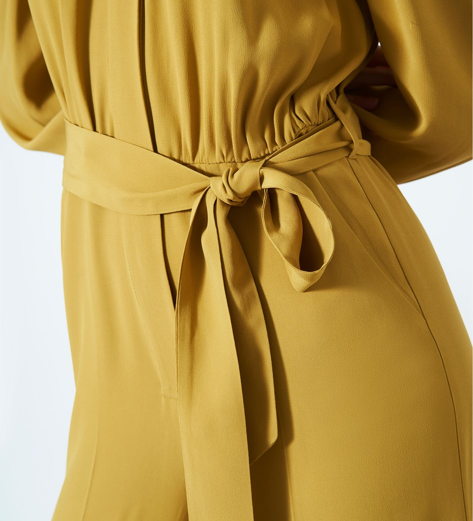 Richmond Mustard Jumpsuit
