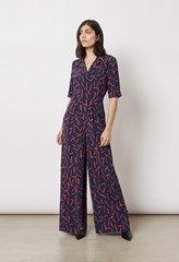 June Printed Jumpsuit