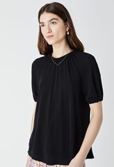 Silbury Gathered Detail T-Shirt