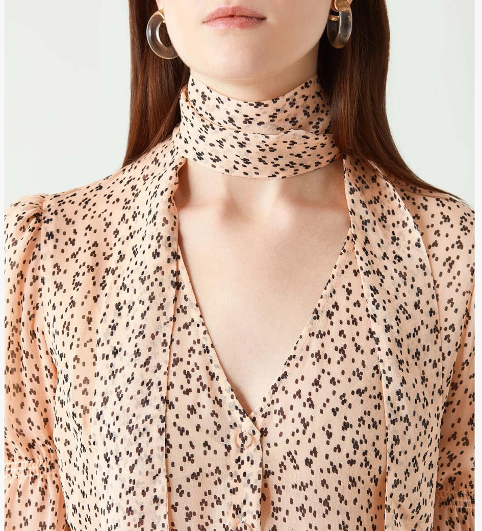 Maygrove Printed Georgette Top