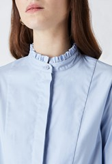 Ayden Frill Placket Blouse