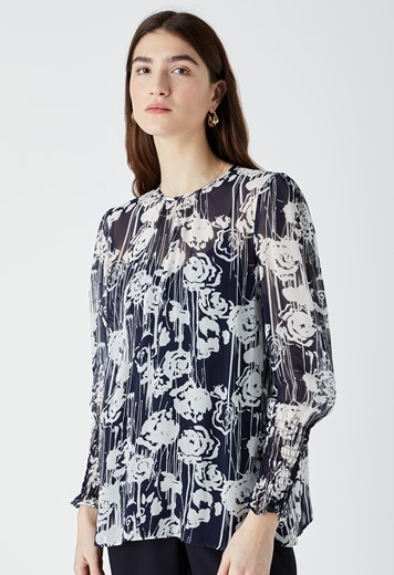 Ellison Printed Blouse