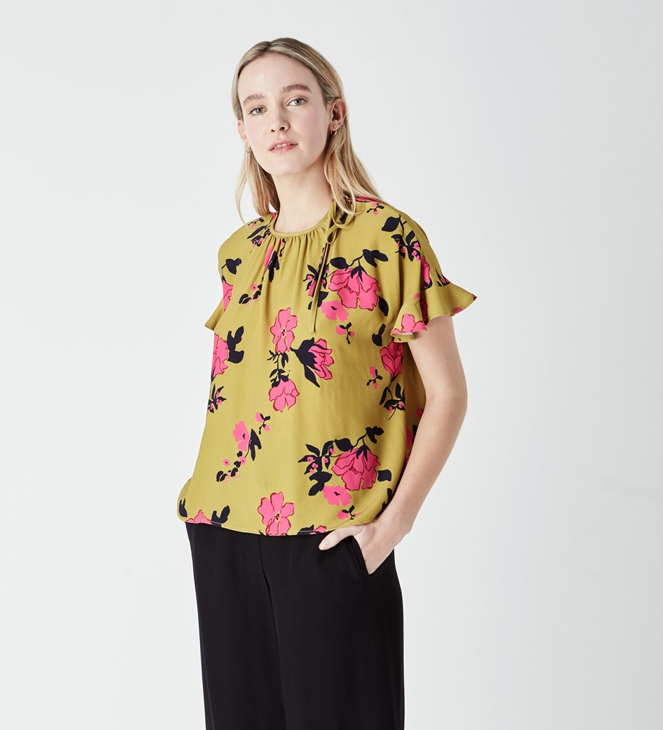 Emerson Printed Blouse