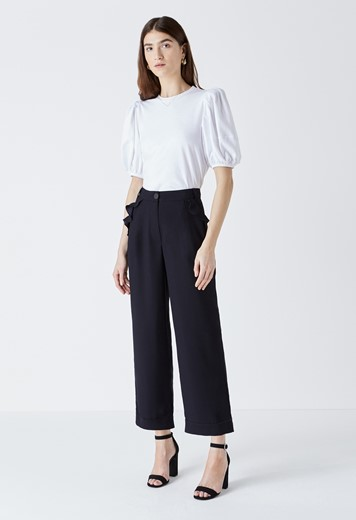 Kellen Frill Pocket Trousers