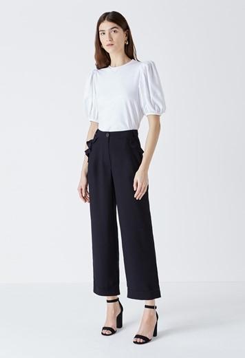 Kellen Frill Pocket Trousers