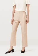 Oliver Fawn Cotton Linen Trousers