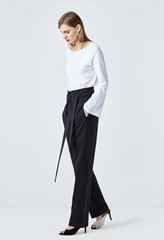 Turnill Tie Waist Trousers