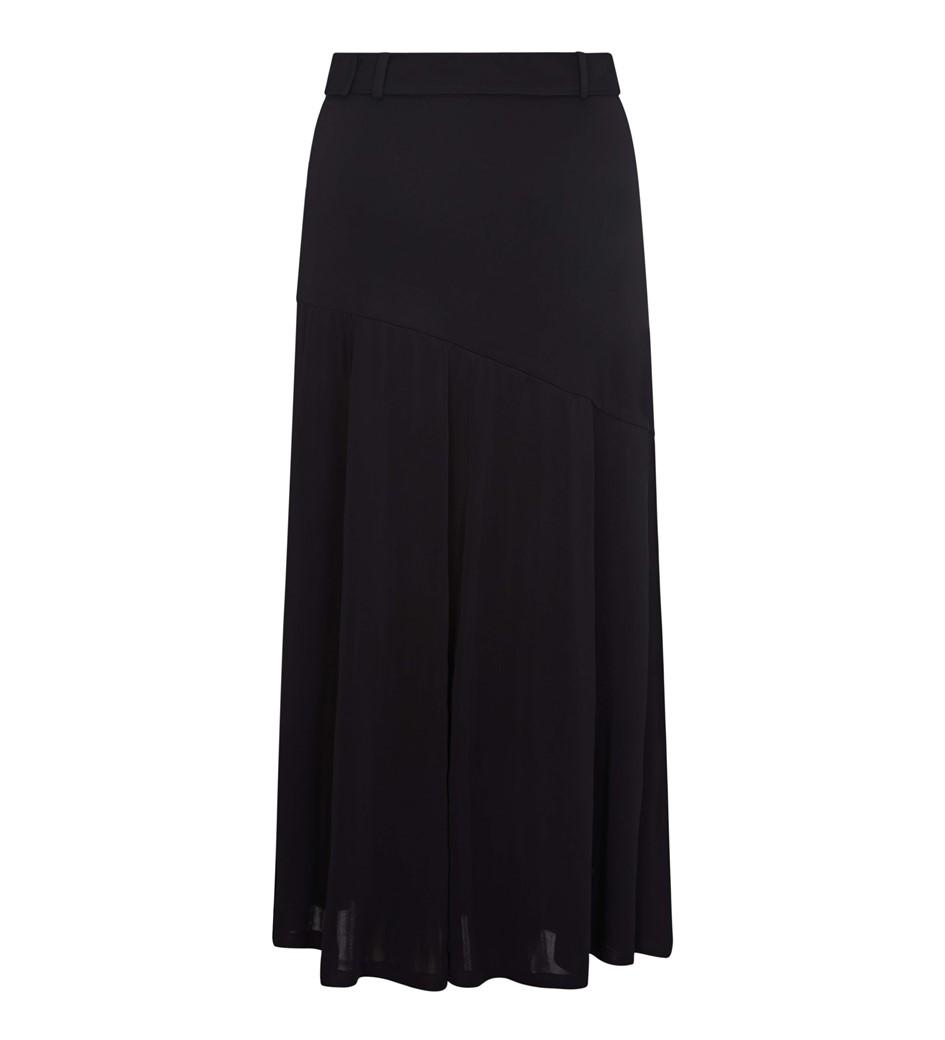 Layne Belted Midi Skirt