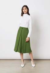 Archie Green Skirt