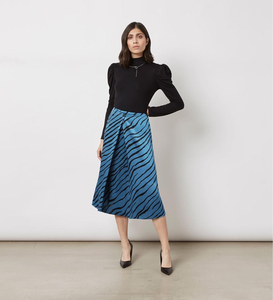 Archie Print Skirt