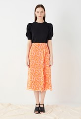 Lisson Georgette Wrap Skirt