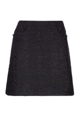 Emery Lurex Tweed Skirt