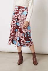 Archie Floral Printed Skirt