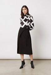 Akenside Skirt Inky Lines